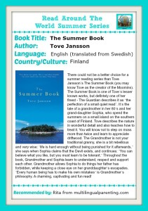 Read Around The World: The Summer Book by Tove Jansson
