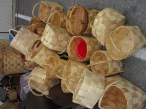 Wood chip baskets
