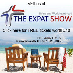 Expat Show FREE tickets