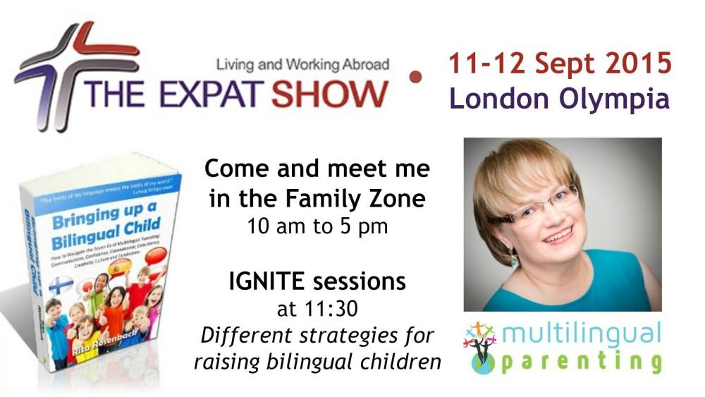 Expat Show, London Olympia