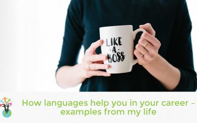 How languages help you in your career – examples from my life
