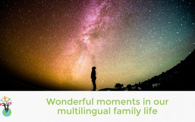 Wonderful moments in our multilingual family life