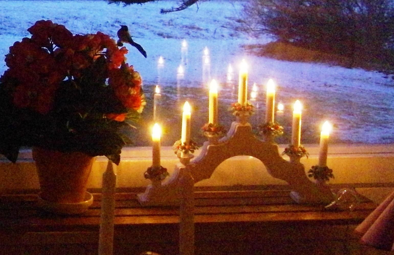 Candle bridge