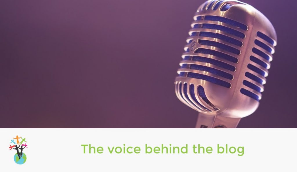 The voice behind the blog