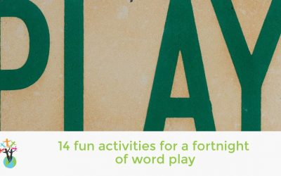 14 fun activities for a fortnight of word play