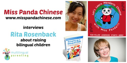 Video: Chat with Miss Panda Chinese about raising bilingual children