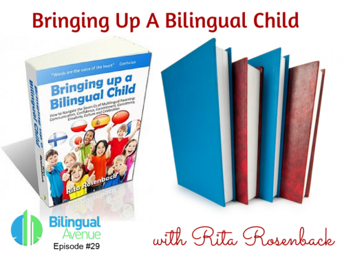 """Interview with Marianna from Bilingual Avenue about my book """"Bringing up a Bilingual Child"""""""