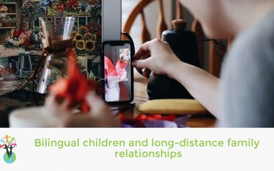 Bilingual children and long-distance family relationships