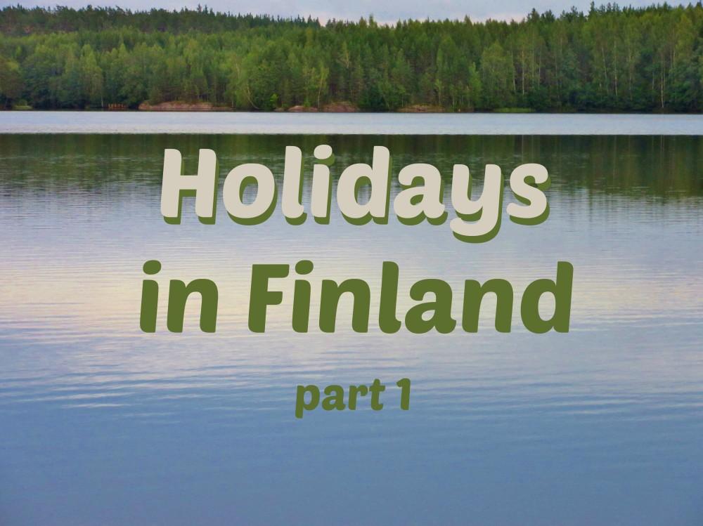 Holidays Finland