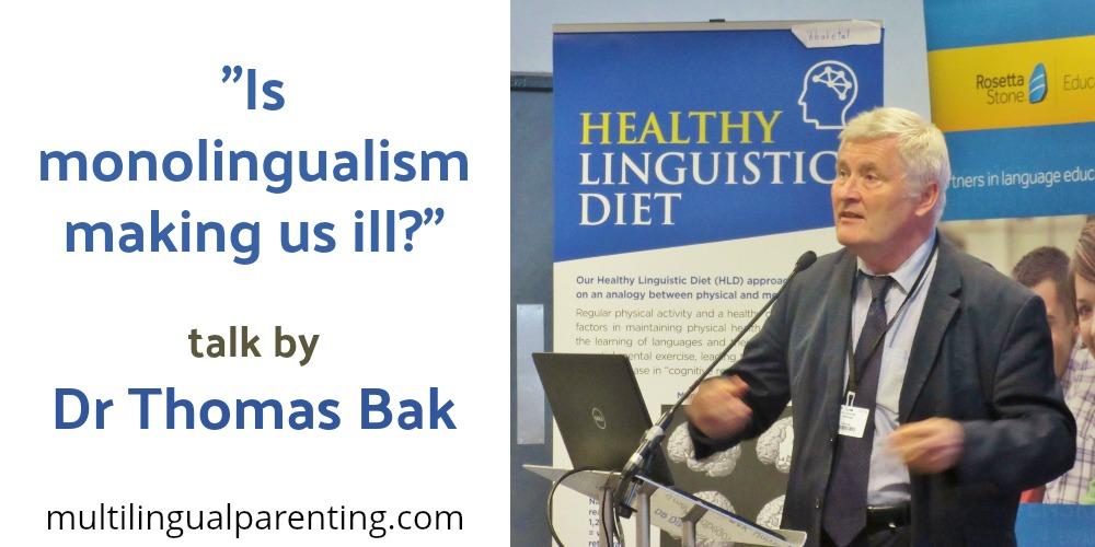 Thomas Bak - monolingualism