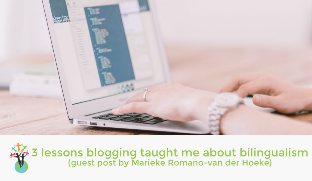 Lessons blogging has taught me about bilingualism