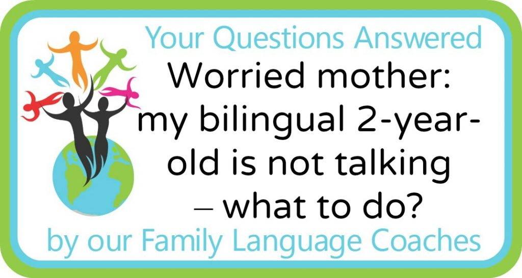 Worried mother: my bilingual 2-year-old is not talking – what to do?