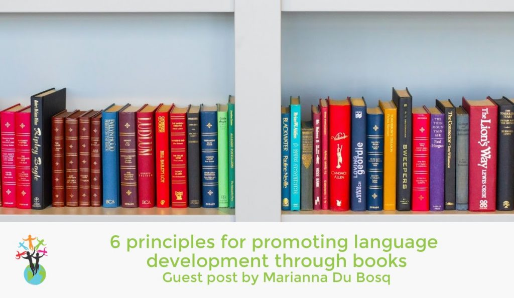 6 principles for promoting language development through books