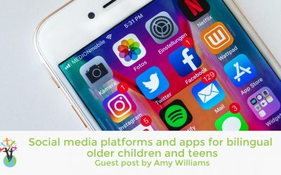 Guest post: Social media platforms and apps for bilingual older children and teens