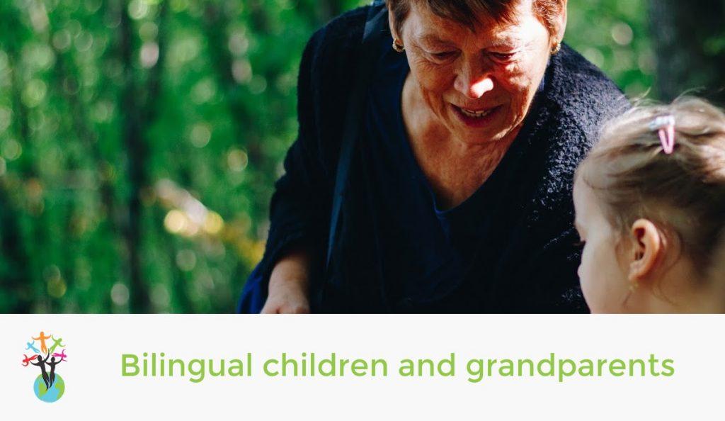 Bilingual children and grandparents
