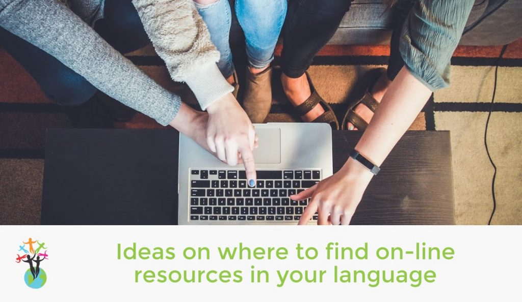 Ideas on where to find on-line resources in your language