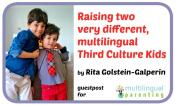 Raising two very different multilingual Third Culture Kids [guest post]